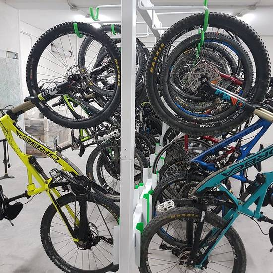 PRIVATE GARAGE FOR BIKES