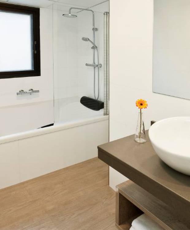 Bathroom Hotel and aparthotel Dos Ríos